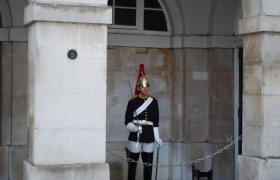 Историческая униформа на солдате