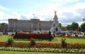 Букингемский дворец в Англии