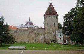 фото замка в Эстонии