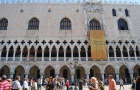 Дворец дожей - памятник готической архитектуры в Италии