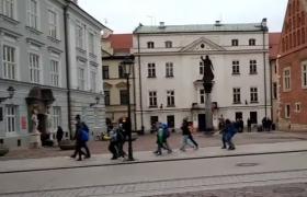 фото площади в Кракове