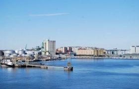 Шведский порт