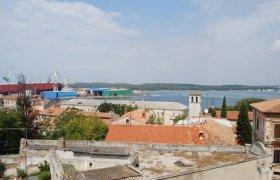 Вид на крыши болгарского поселения